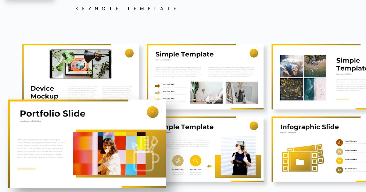 Download Dealona - Keynote Template by aqrstudio