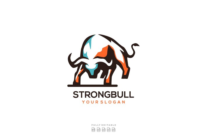 Thumbnail for Abstract Buffalo Bull