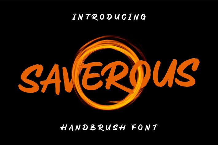 Thumbnail for Saverous - Cute and Horror Typeface