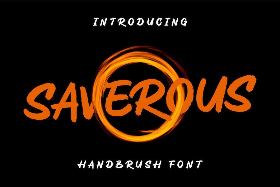 Saverous - Cute and Terror Tipo de letra