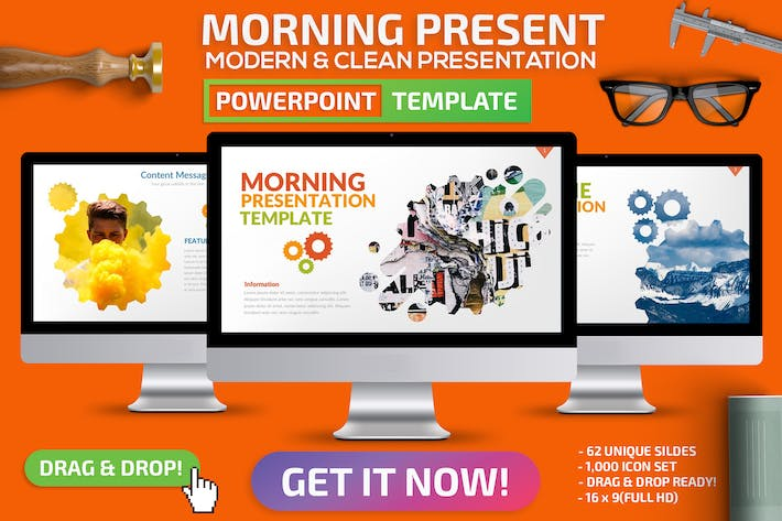 Cover Image For Morning Powerpoint Presentation