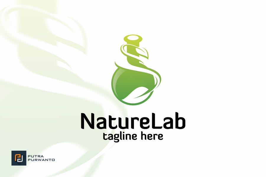 Nature Lab - Logo Template