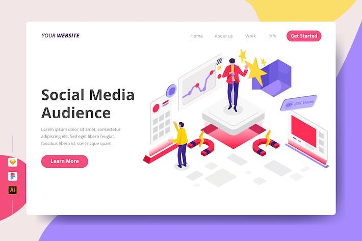 Social Media Zielgruppe - Zielseite