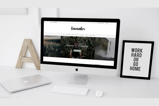 Lavander - A Lifestyle WordPress Blog Theme