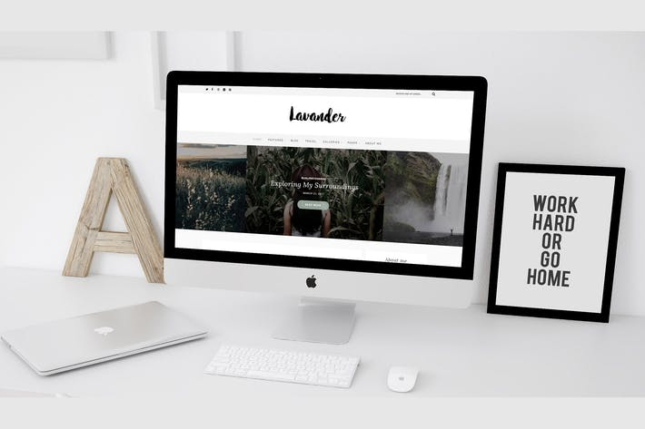 Thumbnail for Lavander - Ein Lifestyle WordPress Blog Thema