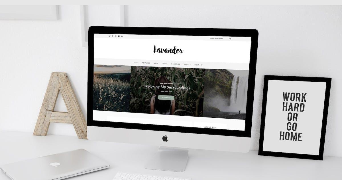Lavander - A Lifestyle WordPress Blog Theme by gljivec