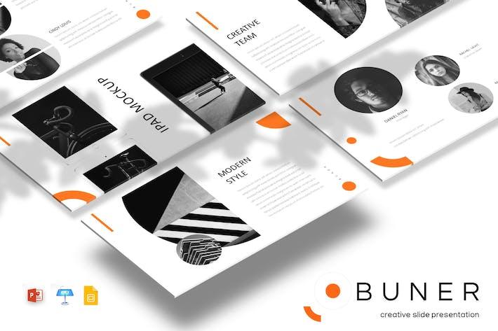 Thumbnail for Buner - Powerpoint/Google Slides/Keynote Template