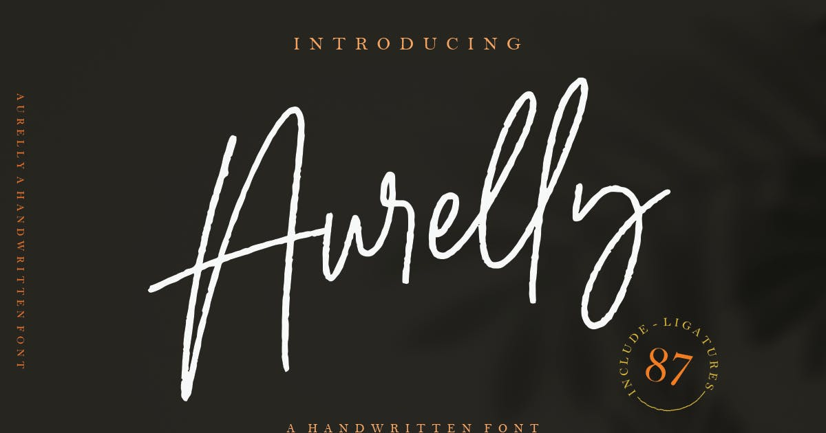 Download Aurelly Signature by templatehere