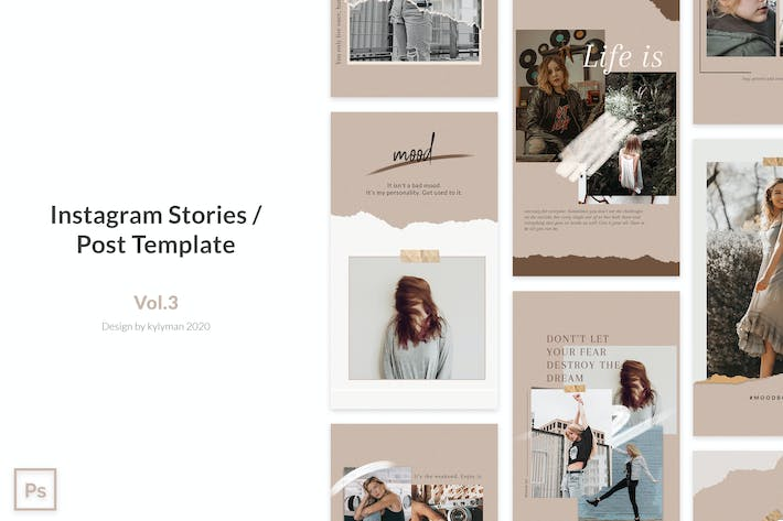 Instagram Post / Stories Template vol.3