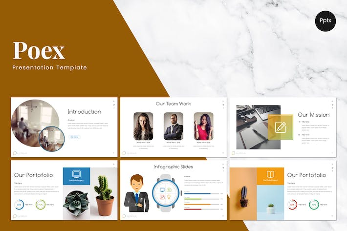 Thumbnail for Poex - Powerpoint Template