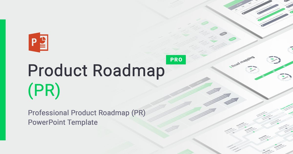 Download Product Roadmap PowerPoint by Site2max