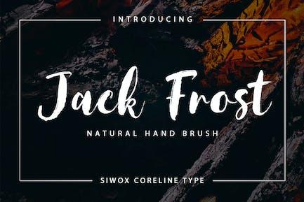 Jack Frost + Webfonts