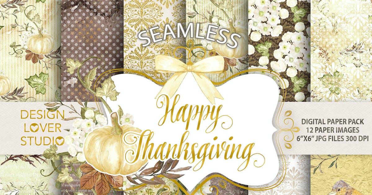 "Download ""Happy Thanksgiving 2"" digital papers by designloverstudio"