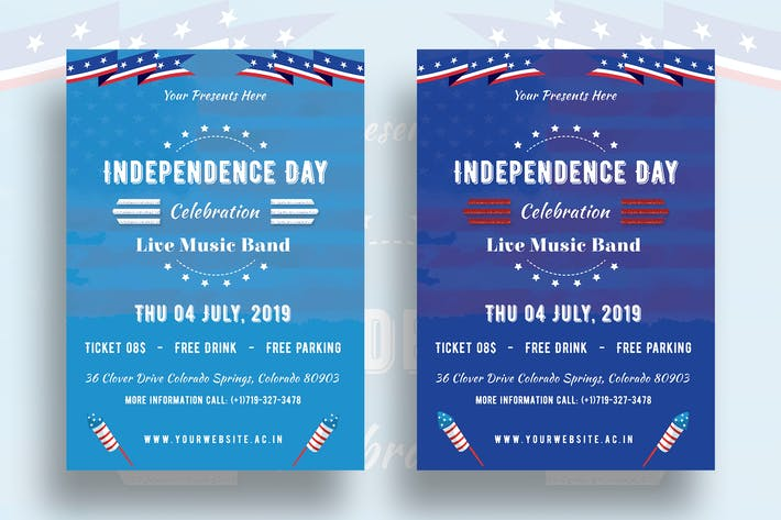 Thumbnail for Independence Day Flyer-03