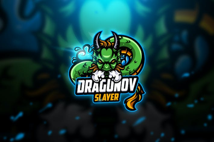 Thumbnail for Dragunov 2 - Mascot & Esport Logo
