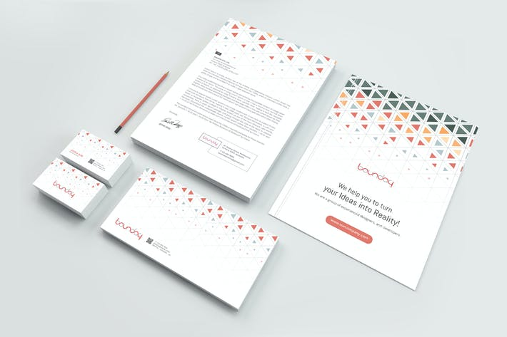 Thumbnail for Business Stationery Pack