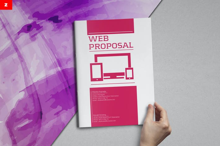 Thumbnail for Web Proposal Project