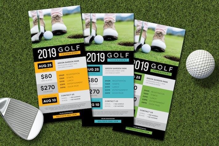 Thumbnail for Charity Golf Rack Card