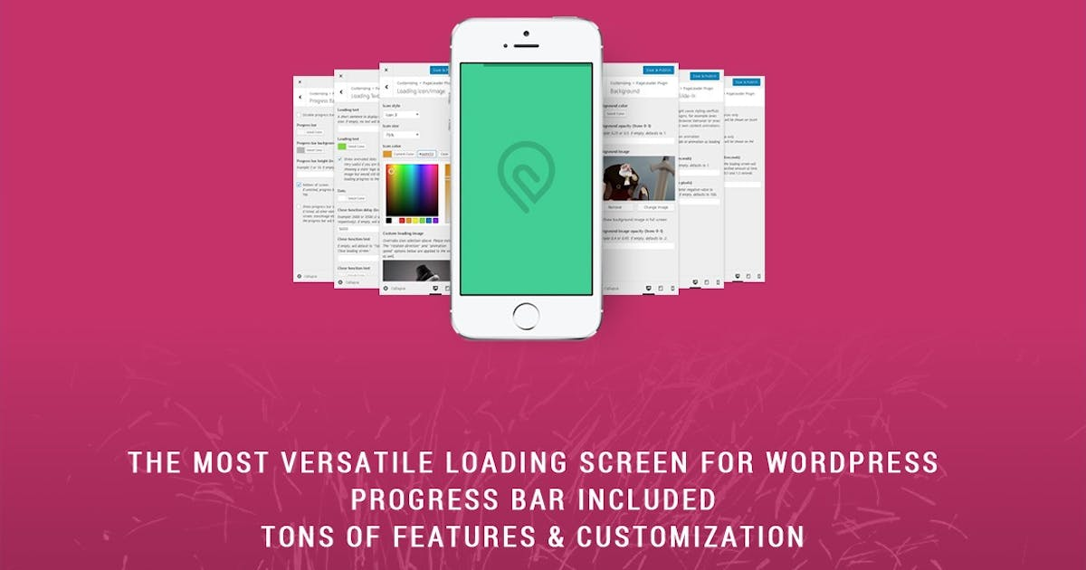 Download PageLoader: Loading Screen and Progress Bar by BonfireThemes