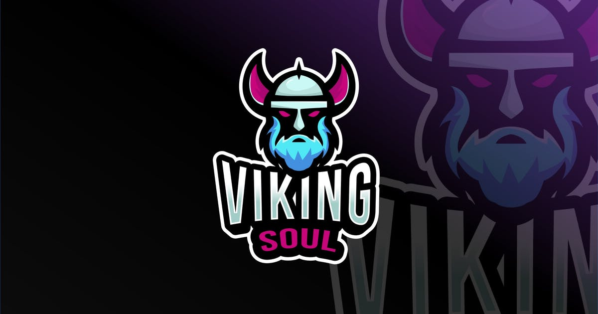 Download Viking Soul Esport Logo Template by IanMikraz