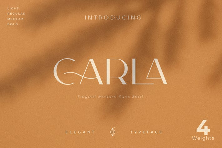 Thumbnail for Carla Sans - Elegant Tipo de letra