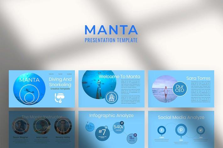 Многоцелевая презентация «Манта»