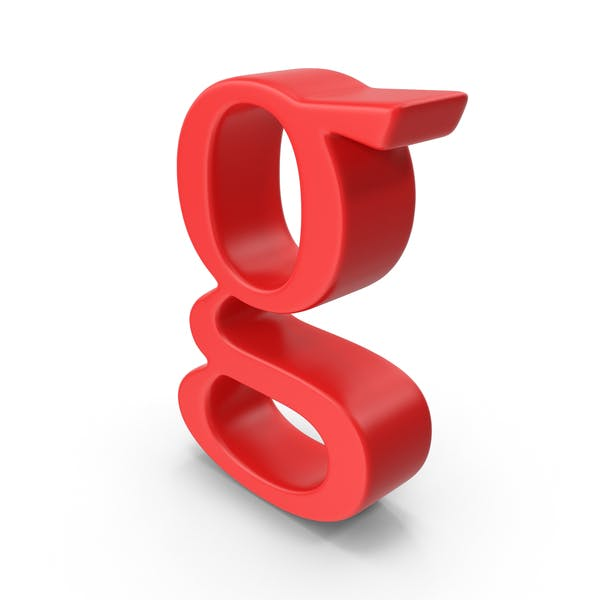 Red Small Letter G