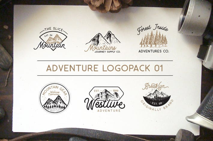 Cover Image For Adventure Logopack Vol. 1