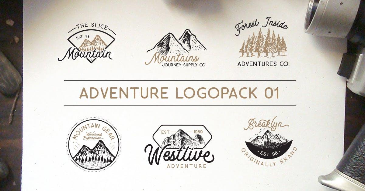 Download Adventure Logopack Vol. 1 by letterhend