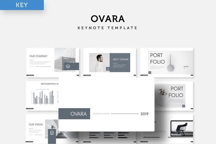 Thumbnail for Ovara - Keynote Template