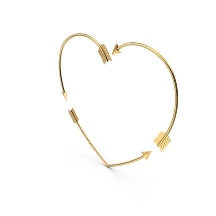 Сердце Золотая Стрела