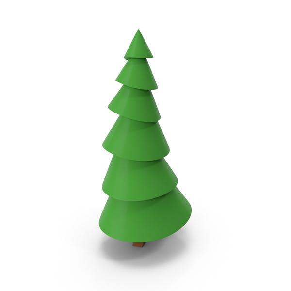 Lowpoly Pine Tree