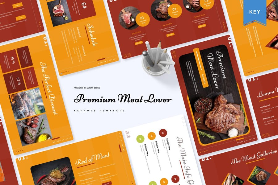 Premium Meat Lover | Keynote Template