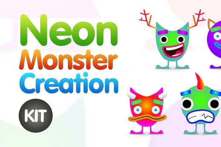 Thumbnail for Neon Monster Creation Kit