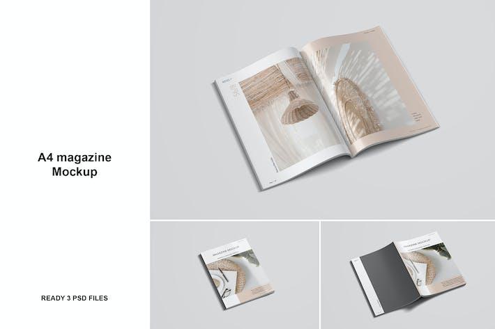 Thumbnail for A4 Magazin-Mockup