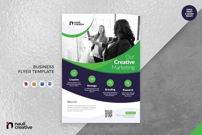 Corporate Business Flyer AI, DOC, & PSD Vol.18