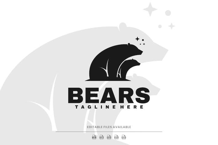 Bear Silhouette Logo