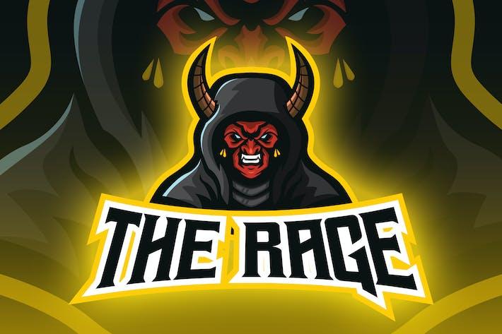 Thumbnail for Evil Horned Devil Esport Logo