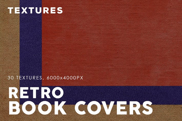Retro Book Cover Textures