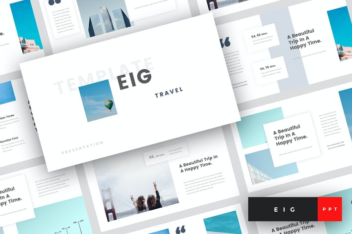 Thumbnail for Eig - Travel PowerPoint Template