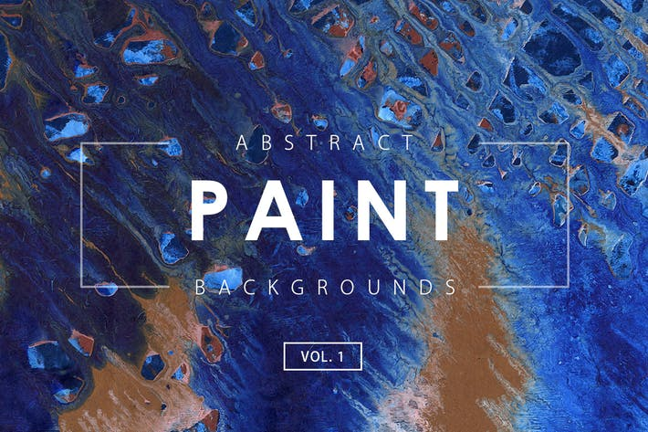 Thumbnail for Abstract Paint Backgrounds Vol. 1