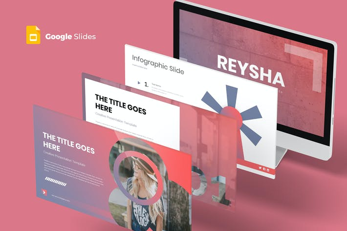 Thumbnail for Reysha - Google Slide Template
