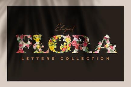 Vintage Flower Alphabet