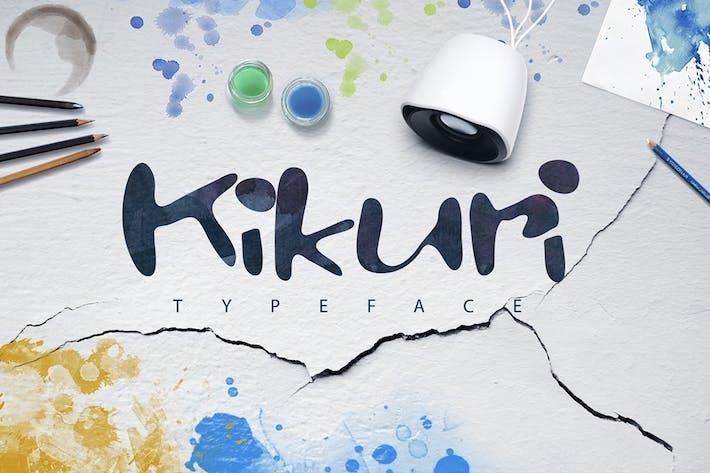 Thumbnail for Kikuri Typeface + Extras