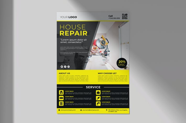 Thumbnail for Repair Home Flyer