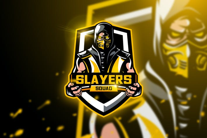 Thumbnail for Slayer Squad - Mascot & Esport Logo