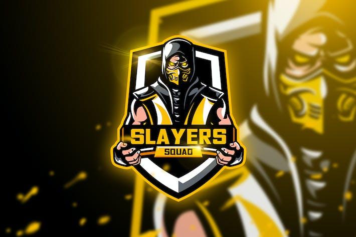 Thumbnail for Slayer Squad - Mascot & Esport Logo