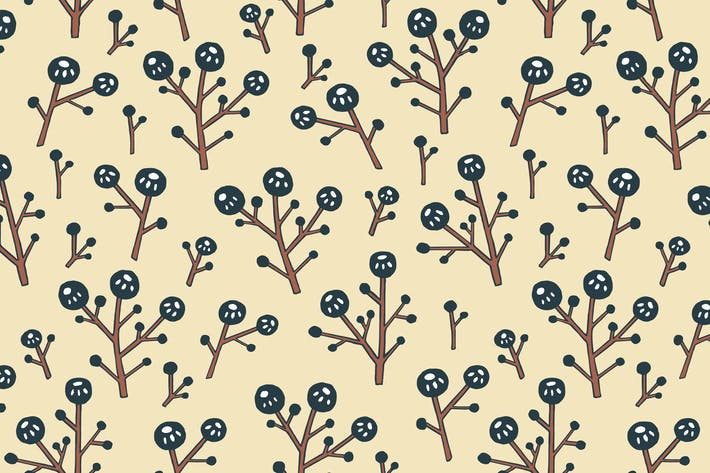 Thumbnail for Berries seamless pattern