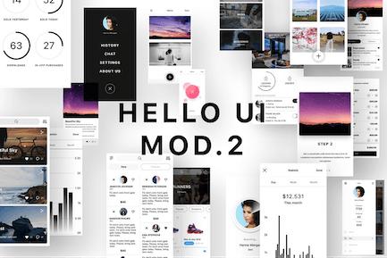Hello UI Kit Mod. 2