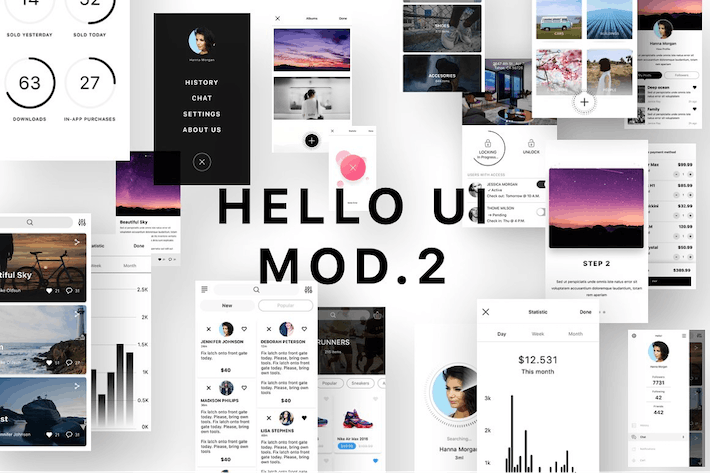 Thumbnail for Hello UI Kit Mod. 2